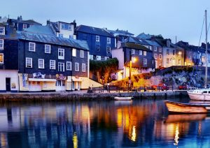 Mevagissey at nght